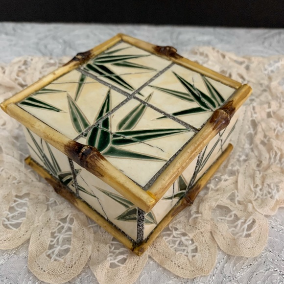 Bamboo Style Trinket Box